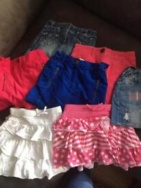 Girls clothing aged 6-8