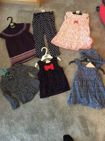 Baby girl clothing bundle size 12-18 months. Dresses/tops/trousers