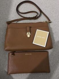 Genuine Michael Kors leather bag