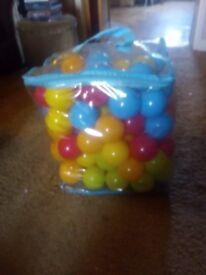 93 Playpit Balls in Carry Bag