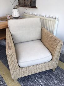 Marks & Spencer Rattan Conservatory Arm Chair