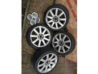 Audi TT VW 9 spoke alloy x4