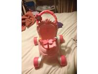 Baby walker&play table
