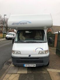 Hymer Swing motor home 2.8 2002. Excellent condition.