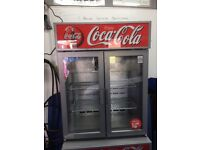 Fridge Coca Cola branded. Beer / drinks fridge.