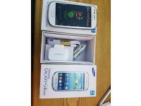 SAMSUNG S3 MINI white 8GB UNLOCKED BOXED phone