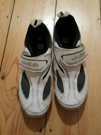 For sale is a pair of the mens DHB cycling shoes.