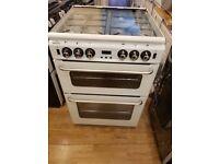 New New World NW600TSIDLM 60cm Freestanding Gas Cooker in White