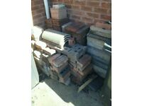 Free to collect roof tiles etc free to collect