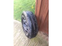 Wheel and Tyre 175x80x14