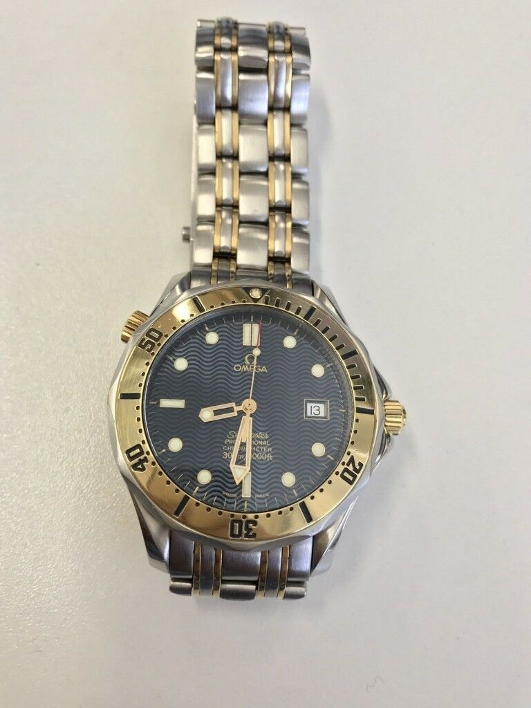 e506ec4d638 Omega Seamaster Pro 300m Chronometer Automatic Steel and Gold Ref 2332.80.00
