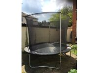 10ft plum trampoline great condition