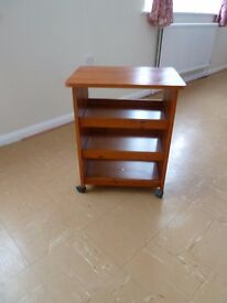 Small 3 tier trolley/table