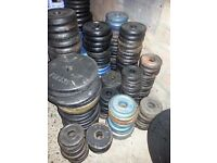 "175kg and over std 1"" weight plates,dumbbell bars and collars"