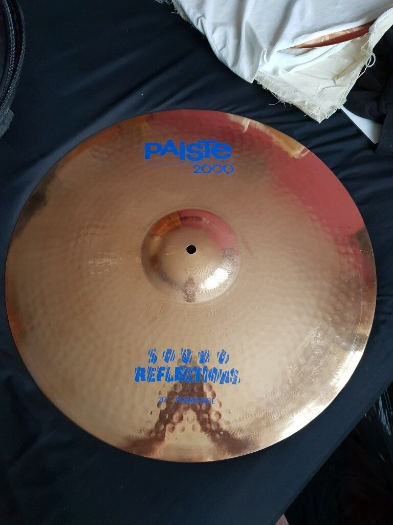 SET OF PAISTE CYMBALS FOR SALE  EXCELLENT QUALITY  DONT MISS OUT ON A  BARGAIN  £600 ovno  | in Sompting, West Sussex | Gumtree