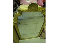 BATHROOM WALL CABINET WITH MIRROR - ANTIQUE STYLE