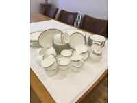 Doulton St.Andrews GEOMETRIX TABLEWARE. 57 pieces
