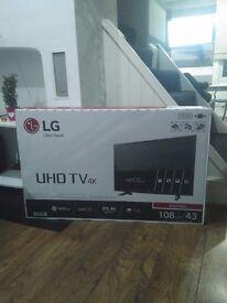 "Brand new LG TV 43"""