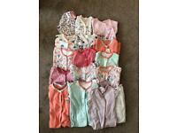 Girls 6-9 sleepsuits Bundle
