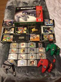 N64 and games bundle