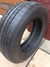 As New BF GOODRICH 215 65 R16 tyre