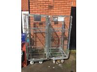 Portable Site Cage / Trolley / Roll Cage