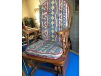 Rocking chair in lovely condition made of wood