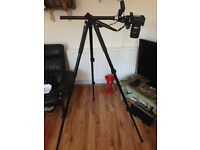 Manfrotto 055X Pro B Tripod with a Manfrotto 804 RC2 Head