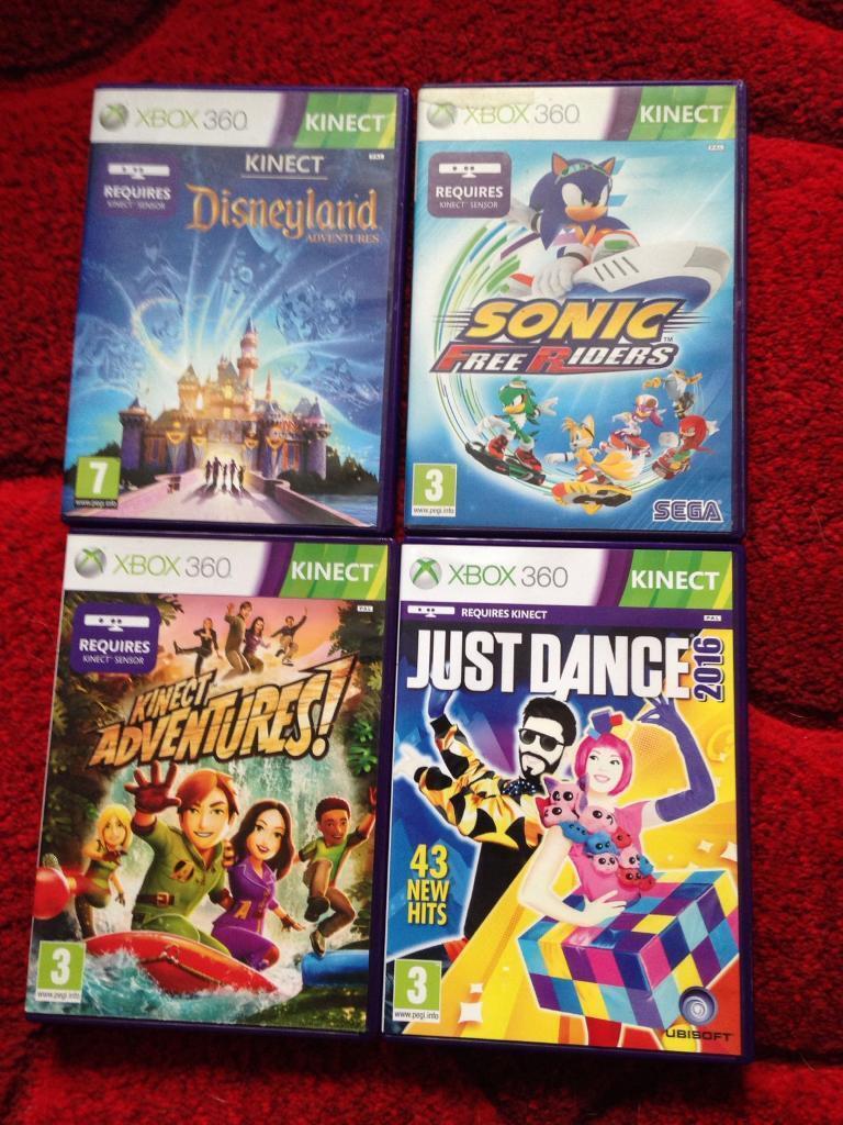 X box Kinect games