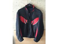 Carrera leather jacket retro size 44