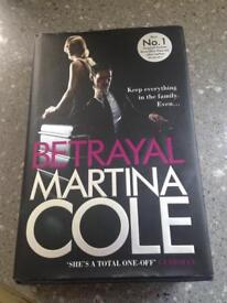 Martina Cole Betrayal in hardback