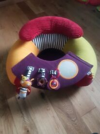 Mamas and Papas Babyplay Sit & Play Infant Positioner Inflatable Floor Seat