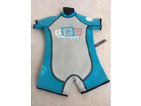 Rip curl size 2 shorty wetsuit