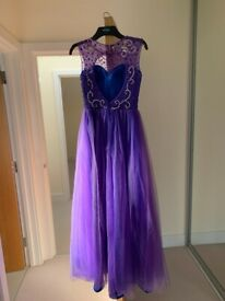 Purple prom dress for sale!
