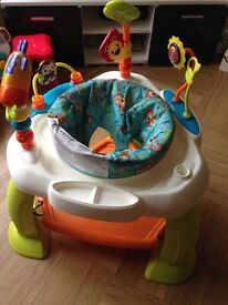 Baby activity bouncer chair