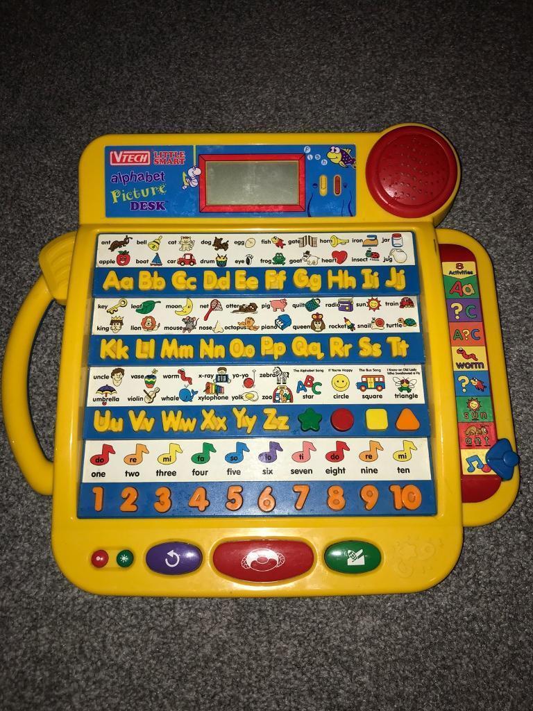 Vtech alphabet picture desk & play & learn laptop