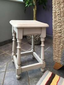 Side Table Shabby Chic