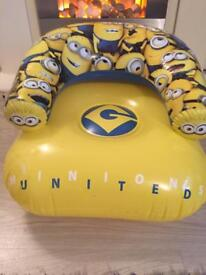 Minions inflatable seat