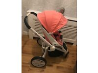Quinny moodd travel system with maxi-cosi car seat from birth to 4 years