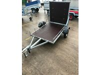 Trailer for golf buggy or small quad etc