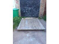 Large pallet / shed base