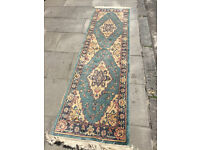 Runner Rug Size L 92in x W 27in - In good condition.