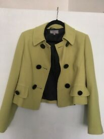 Lime green jacket M&S