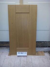 Oak kitchen cabinet door