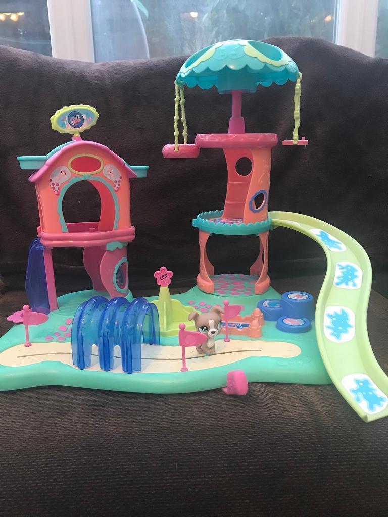 Littlest pet shop playground