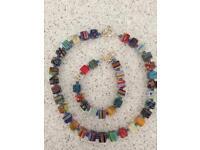 Unique Necklace And Bracelet Set