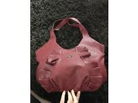 Storm Red Leather Bag