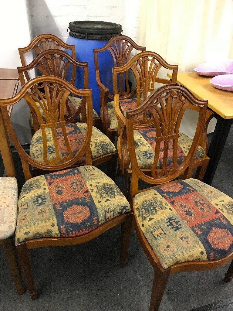 CHAIRS x6 FOR DINING ROOM