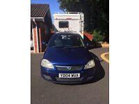 Vauxhall corsa 2004, 3 door hatchback. MOT till April 2028. Owner gone to uni so no longer needed.