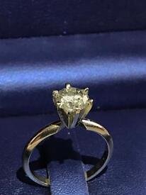 1.45ct Diamond Solitaire Ring